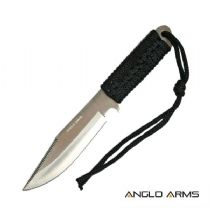 "ANGLO ARMS Paracord Survival Knife 7"" Camping Outdoors Fishing - Perfect Gift."